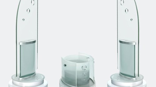 Glass Speakers