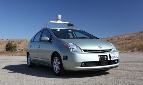 Google : La voiture sans conducteur !