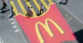 Le passage piétons McDonald's