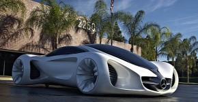 Biome : Le concept car du futur par Mercedes