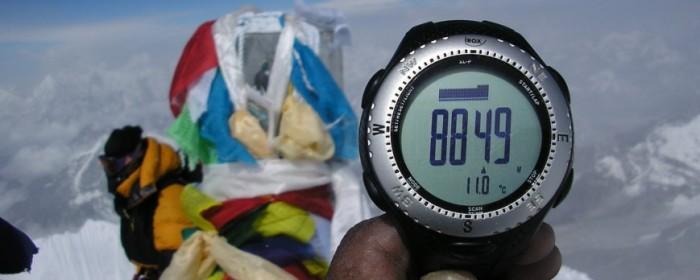 La 3G au sommet de l'Everest