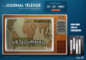 Dailymotion le journal t l du jour de votre naissance actinnovation no - Le journal de la tele ...