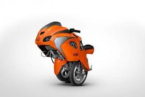 BPG Uno - La moto dépliable du futur