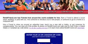 Rent a friend : Louer ses amis sur Internet