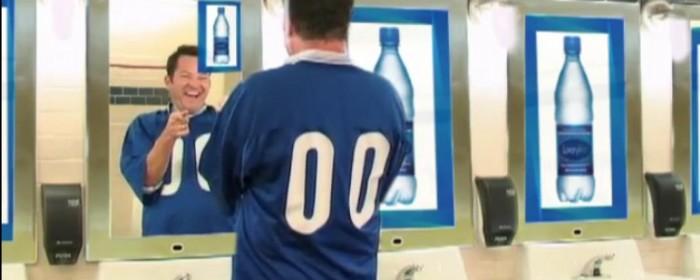 Toilettes et pub interactive