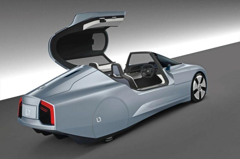 volksvagen xl1 hybride moins d 39 1 litre aux 100 km actinnovation nouvelles technologies. Black Bedroom Furniture Sets. Home Design Ideas