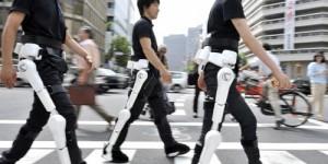 HAL : Un exosquelette qui remplace les muscles du corps