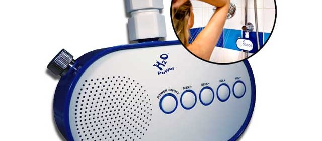 H2O Power radio douche