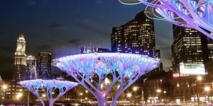 Treepods Concept : Des arbres artificiels qui filtrent le CO2 de nos mégapoles