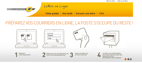 Innovation La Poste La Lettre Recommandee Electronique