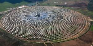 Gemasolar : 185 hectares de centrale solaire de haute technologie en Espagne