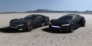 Ford Mad Max Interceptor : 2 concept-cars pour le revival du film en 2012