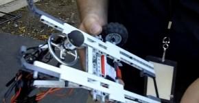 robot_roue_hemispherique_omnidirectionnelle