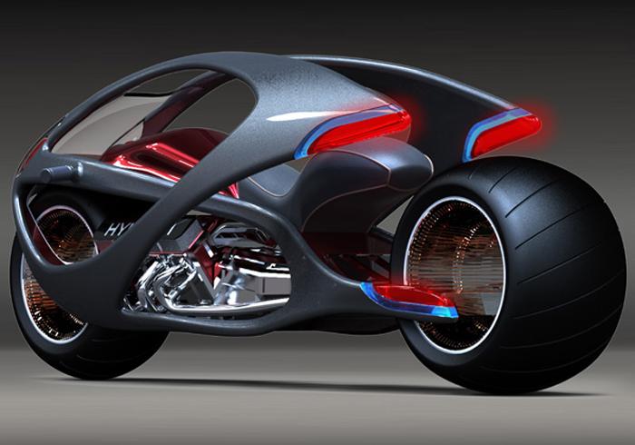 Concept hyundai motorcycle stretches la moto qui fait quot corps quot avec son pilote actinnovation