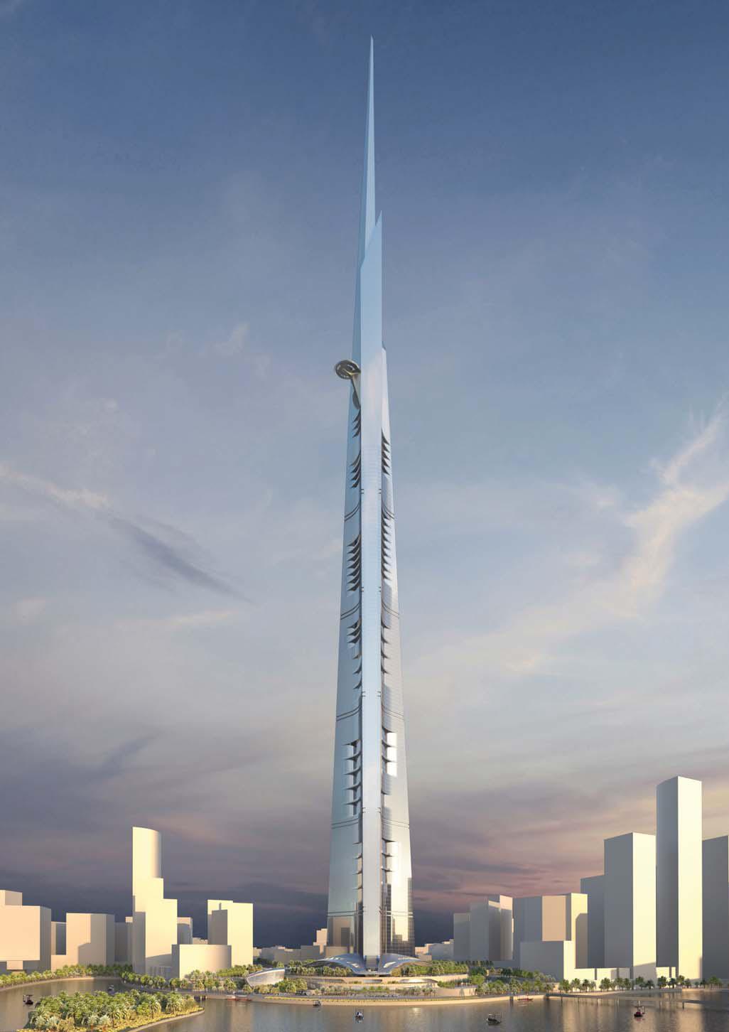 Kingdom tower la tour la plus haute du monde pr te for Les plus grandes tours du monde