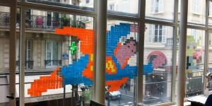 Post-it War : une sélection des meilleures réalisations sur fenêtres