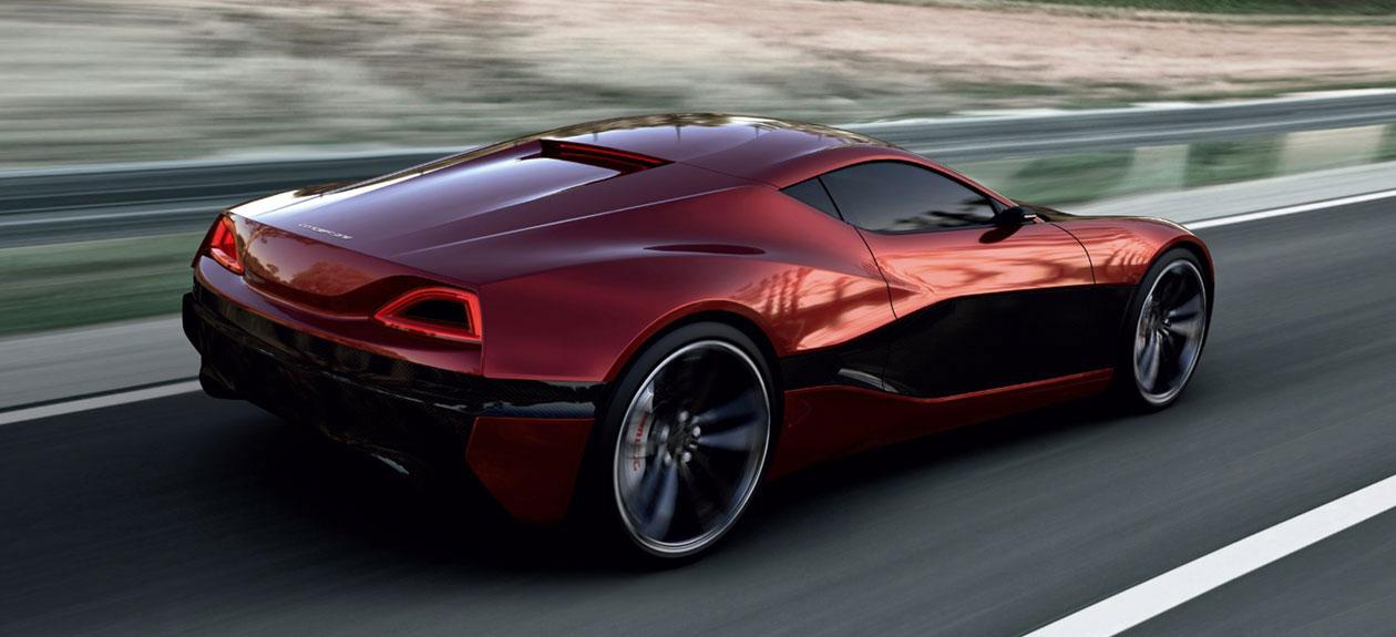 concept one 1 088 chevaux dans une supercar lectrique actinnovation nouvelles. Black Bedroom Furniture Sets. Home Design Ideas