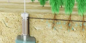 Airdrop Irrigation : un système qui récupère l'eau de l'humidité de l'air