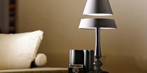 Design & Technologie : une lampe à lévitation magnétique