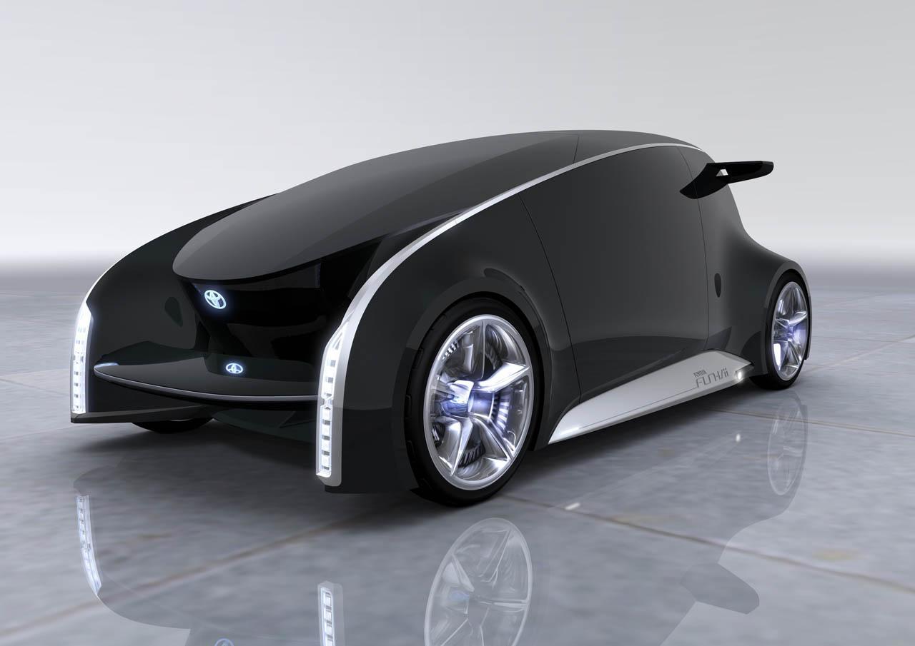 Toyota Fun Vii La Voiture Du Futur Troque Sa Carrosserie