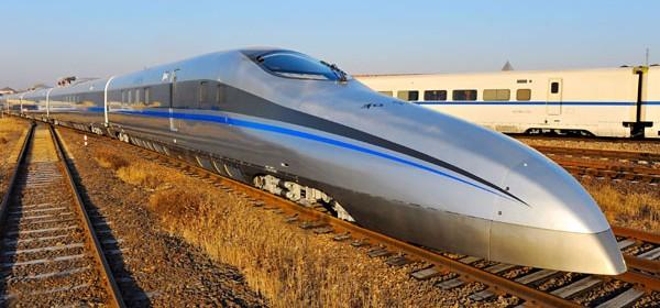 Train grande vitesse chine
