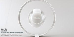 Orbit [Concept] : la machine à laver sans eau et sans savon du futur ?
