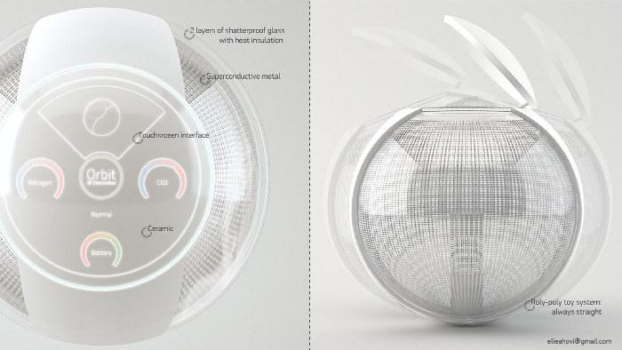 Orbit concept la machine laver sans eau et sans savon du futur acti - Machine a laver du futur ...