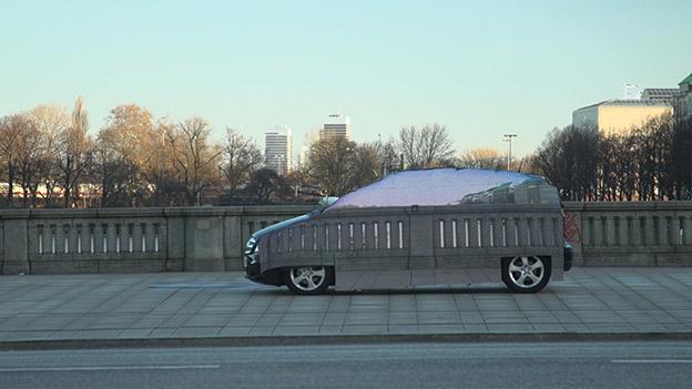 """2015: le 28/10 à 21h30 - """"Déplacements d'étoiles""""Un phénomène ovni insolite -  Ovnis à Col de Jau 1500m - Pyrénées-Orientales (dép.66) - Page 2 Mercedes-fuel-cell-voiture-invisible-2"""