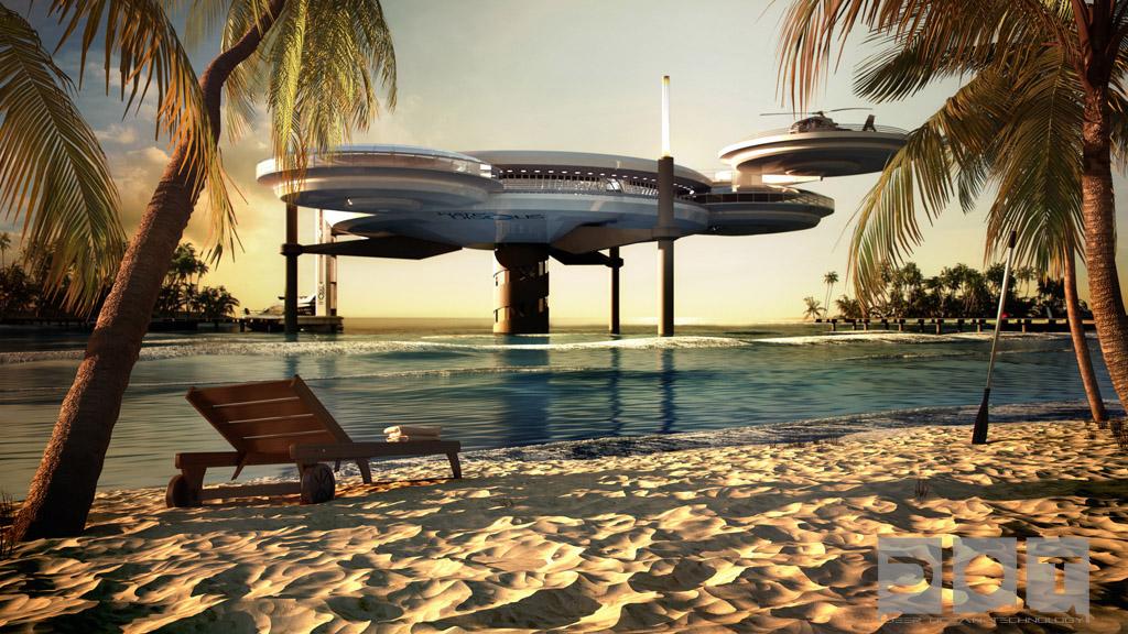 Discus un h tel sous marin de luxe duba for Hotel dans le monde