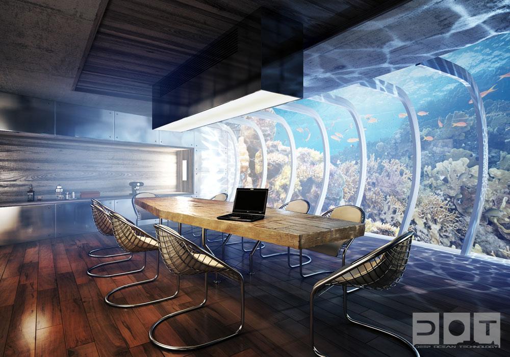 Exceptionnel Discus, un hôtel sous-marin de luxe à Dubaï | Actinnovation  ED98