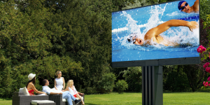 C SEED, la plus grande télé de jardin du monde !