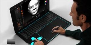 Concept Touchlap, un ordinateur portable conçu pour les designers