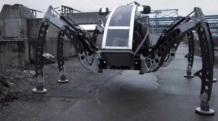 mantis le plus gros robot hexapode tout terrain du monde actinnovation nouvelles. Black Bedroom Furniture Sets. Home Design Ideas