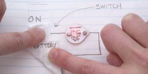 Circuit Scribe, un stylo pour dessiner des circuits électroniques sur une feuille de papier
