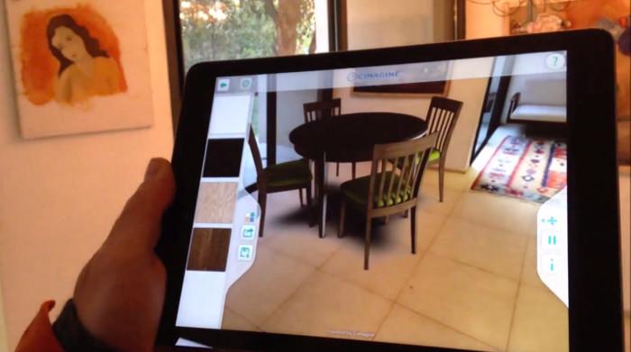 Essayez vos futurs meubles chez vous en r alit augment e for Jeu de construction de maison virtuel 3d