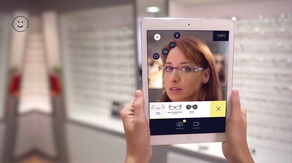 logiciel essayage virtuel lunettes
