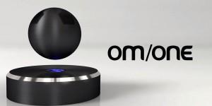 OM/ONE, un haut-parleur sans fil à lévitation magnétique