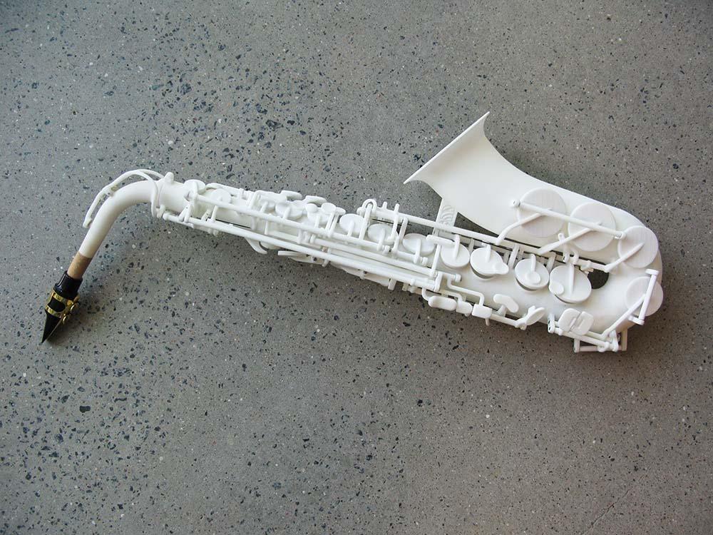 Le premier saxophone imprim en 3d actinnovation for Salon impression 3d