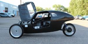 Raht Racer :  le vélomobile à pédales qui va aussi vite qu'une voiture