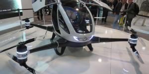 CES : un drone autonome capable de transporter une personne